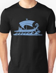 Ship (blue)  T-Shirt