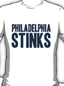 Dallas Cowboys - Philadelphia Stinks - Blue T-Shirt
