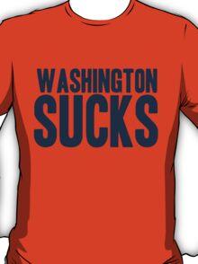 Dallas Cowboys - Washington Sucks - Blue T-Shirt