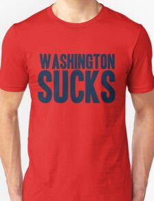 Dallas Cowboys - Washington Sucks - Blue T-Shirt