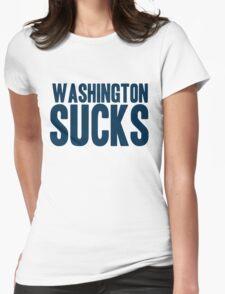 Dallas Cowboys - Washington Sucks - Blue Womens T-Shirt