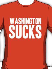 Dallas Cowboys - Washington Sucks - White T-Shirt