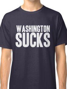 Dallas Cowboys - Washington Sucks - White Classic T-Shirt