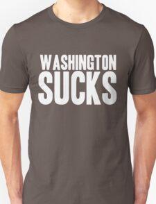 Dallas Cowboys - Washington Sucks - White Unisex T-Shirt