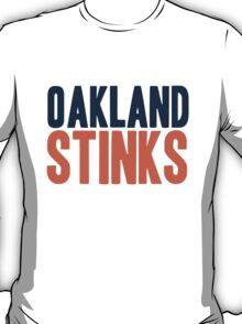 Denver Broncos - Oakland stinks - mix T-Shirt