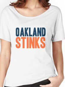 Denver Broncos - Oakland stinks - mix Women's Relaxed Fit T-Shirt