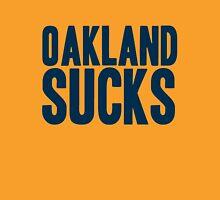 Denver Broncos - Oakland sucks - blue Unisex T-Shirt
