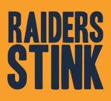 Denver Broncos - Oakland Raiders stink - blue by MOHAWK99