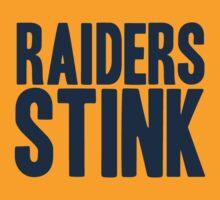 Denver Broncos - Oakland Raiders stink - blue by MOHAWK99
