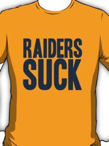 Denver Broncos - Raiders suck - blue T-Shirt