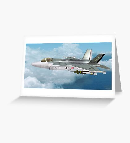 Lockheed Martin F-35 Lightning  Greeting Card