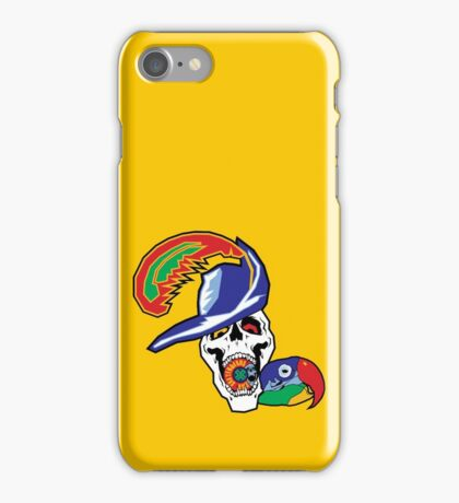 Pirate and Parrot - Sick Skateboards iPhone Case/Skin