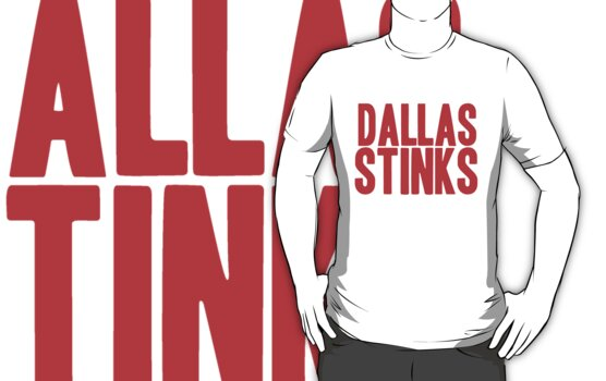 New York Giants - Dallas stinks - red by MOHAWK99