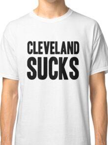 Pittsburgh Steelers - Cleveland sucks - black Classic T-Shirt