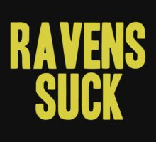 Pittsburgh Steelers - Ravens suck - gold by MOHAWK99