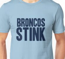 San Diego Chargers - Broncos stink - blue Unisex T-Shirt
