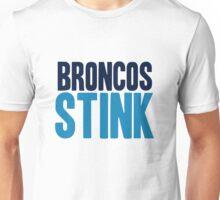 San Diego Chargers - Broncos stink - mix Unisex T-Shirt