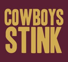 Washington Redskins - Cowboys stink - gold by MOHAWK99