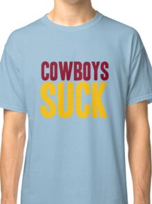 Washington Redskins - Cowboys suck - mix Classic T-Shirt