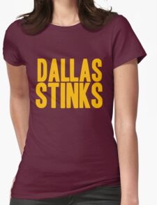 Washington Redskins - Dallas stinks - gold Womens Fitted T-Shirt