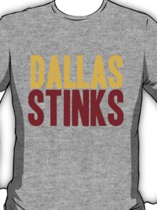 Washington Redskins - Dallas stinks - mix T-Shirt