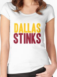 Washington Redskins - Dallas stinks - mix Women's Fitted Scoop T-Shirt