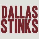 Washington Redskins - Dallas stinks - red by MOHAWK99