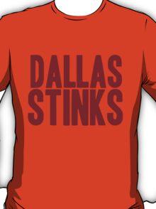 Washington Redskins - Dallas stinks - red T-Shirt