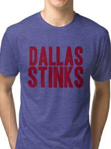 Washington Redskins - Dallas stinks - red Tri-blend T-Shirt