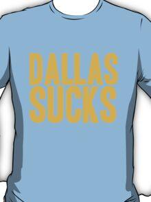 Washington Redskins - Dallas sucks - gold T-Shirt