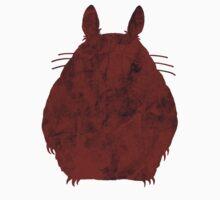 Grunge Totoro (Red) by Oskar Strom