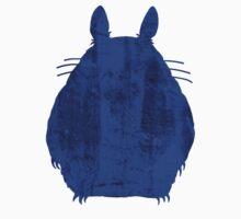 Grunge Totoro (Blue) by Oskar Strom