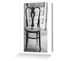 Have A Seat With History Greeting Card
