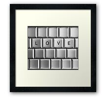 Computer Love  Framed Print