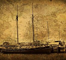 This Tall Ship Must Have Tales to Tell by Jane Neill-Hancock