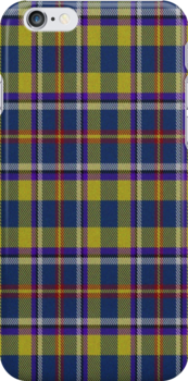 02343 Philadelphia County, Pennsylvania E-fficial Fashion Tartan Fabric Print Iphone Case by Detnecs2013