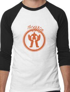 "The Big ""OH"" Men's Baseball ¾ T-Shirt"