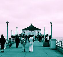 Manhattan Beach Pier, L.A. by Emily McAuliffe