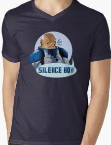 SILENCE BOY!! Mens V-Neck T-Shirt