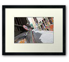 Melbourne Street Art Framed Print