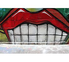 Melbourne Street Art Photographic Print