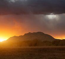 Sunset Burn by Bob Larson