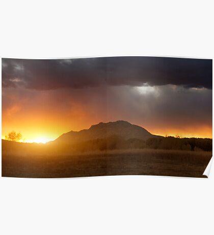 Sunset Burn Poster