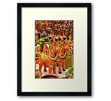 Art in Terracotta  Framed Print