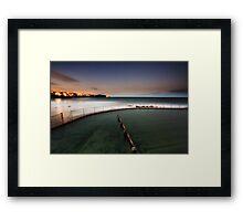 Bronte Ocean Pool, NSW Australia Framed Print