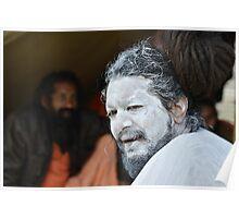 Portrait of a Naga Sadhu Poster