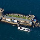 A Birds Eye View of Fort Denison by Steve Randall