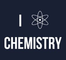 I (heart) chemistry!  Kids Clothes