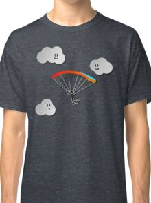 Parachute with Happy Clouds Classic T-Shirt