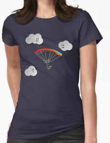 Parachute with Happy Clouds T-Shirt